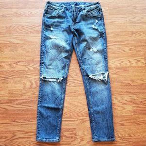 VIGOSS | The Thompson Tomboy Distressed Jeans